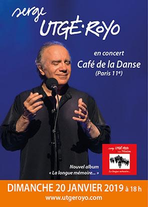 Concert Café de la Danse