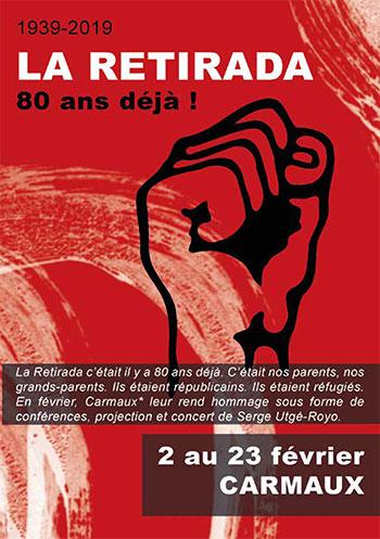 Dimanche 17 février, 16 h 30, à Carmaux (81), Salle Pierre Bérégovoy