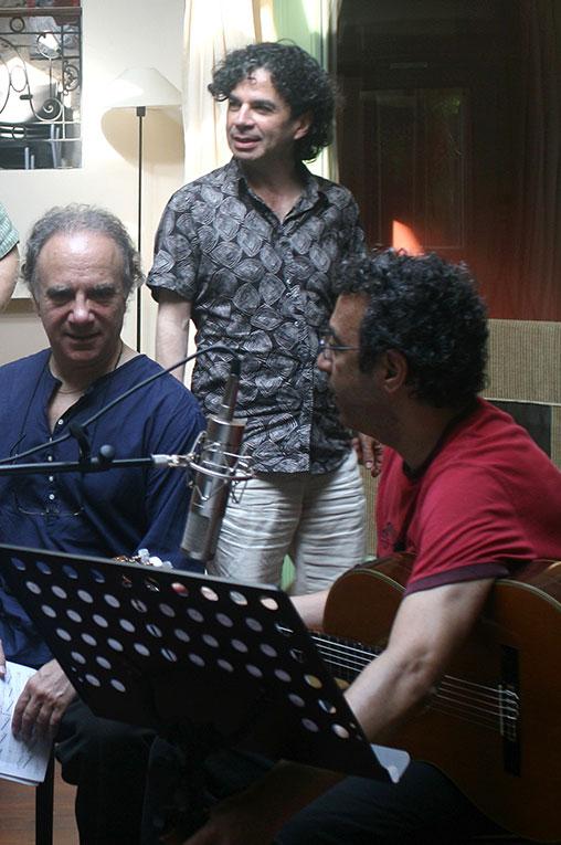 Serge, Léo et Jack à Meudon