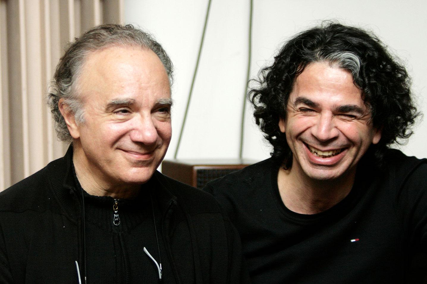 Serge Utge Royo et Léo Nissim